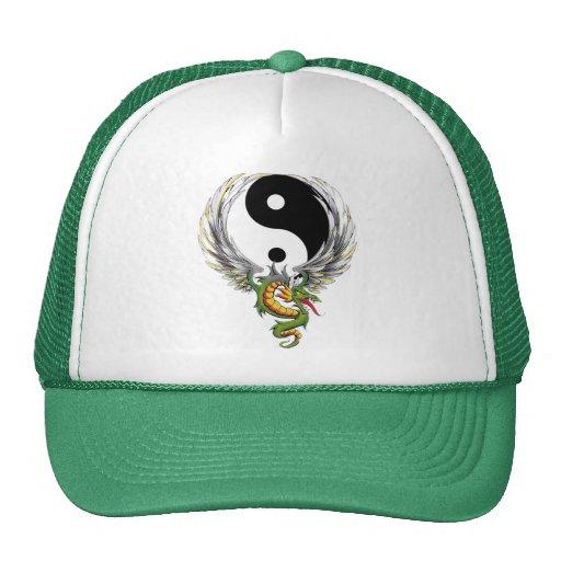 Presente do dragão de Yin Yang Bone