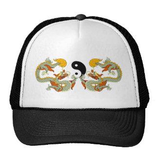 Presente do dragão de Yin Yang Bonés