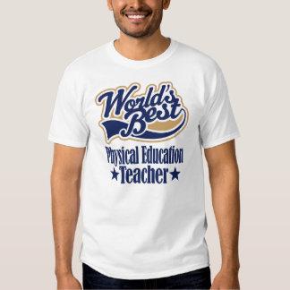 Presente do professor da educação física para camisetas