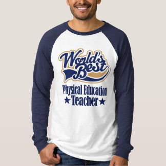 Presente do professor da educação física para t-shirts