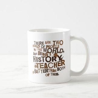 Presente do professor da história caneca