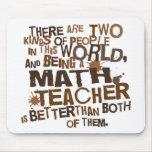 Presente do professor de matemática mousepads