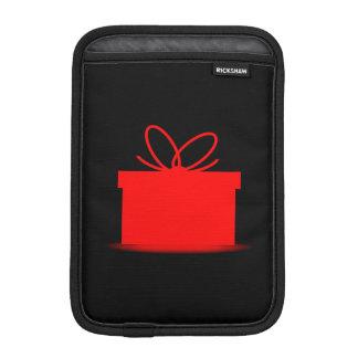 Presente em uma caixa vermelha capa iPad mini