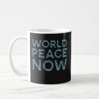 Presente engraçado da caneca de café da paz de