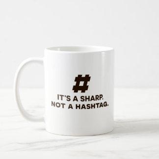 Presente engraçado da caneca de café - é um Sharp,