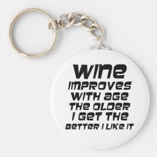 Presente engraçado da piada do vinho do humor dos chaveiro