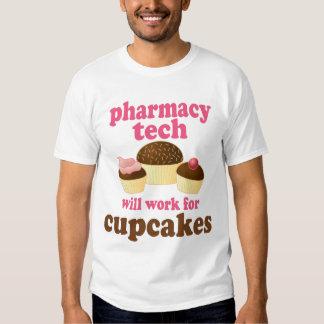 Presente (engraçado) da tecnologia da farmácia camisetas