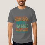 Presente engraçado do t-shirt dos Gamers para nerd