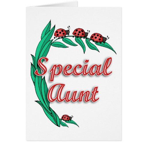 Presente especial da tia dia das mães cartoes