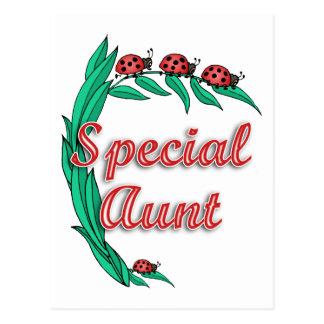 Presente especial da tia dia das mães cartão postal