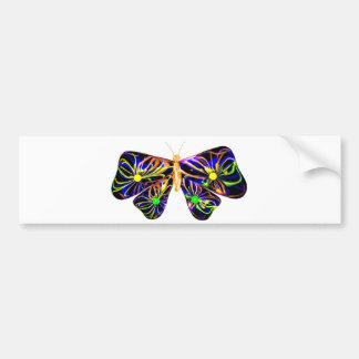 presente espiral da borboleta de Valxart.com Adesivos