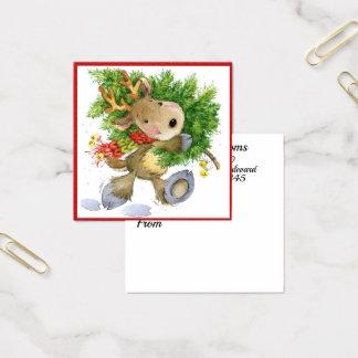 Presente, florista, cerco, cartão de visita