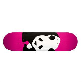 Presente fúcsia bonito dos animais selvagens do shape de skate 20cm