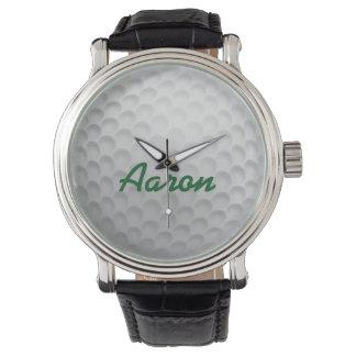 Presente Golfing do relógio da bola de golfe dos