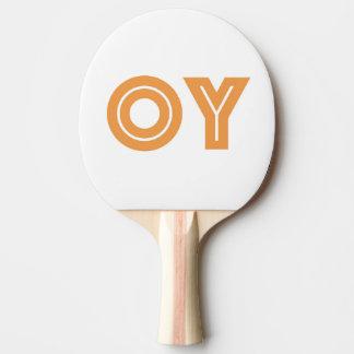 Presente judaico, original, Oy VE Raquete De Tênis De Mesa