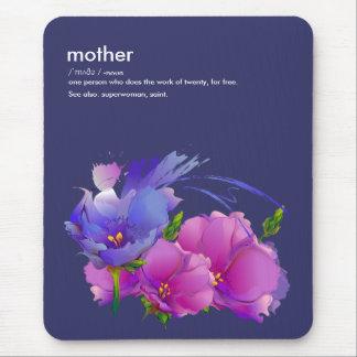 Presente Mousepads do dia das mães da definição da