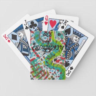 Presente original para o jogador baralho para poker