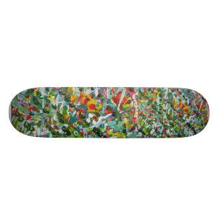 Presente original - skate com design criativo