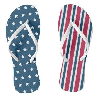 Presente patriótico das sandálias do cruzeiro dos
