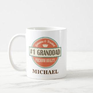 Presente personalizado avô da caneca do escritório