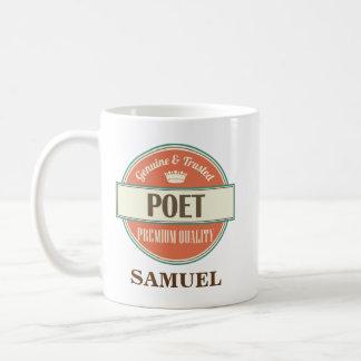 Presente personalizado poeta da caneca
