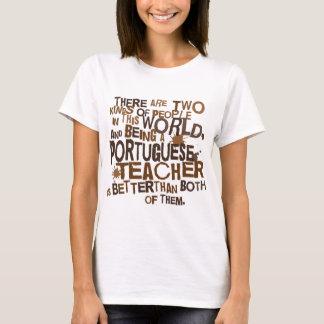 Presente português do professor camiseta