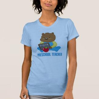 Presente pré-escolar bonito do Tshirt do professor