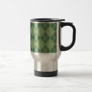 Presente verde da caneca de café do dia dos pais