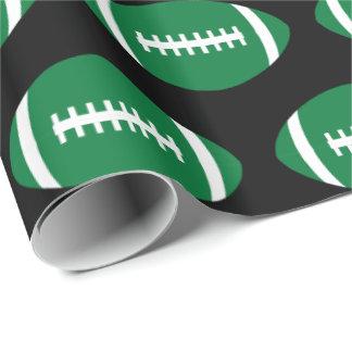 Presente verde do partido do jogador ou da equipe papel de presente