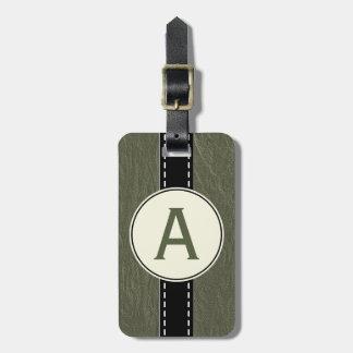 Presente verde do Tag da mala de viagem da bagagem Etiqueta De Bagagem