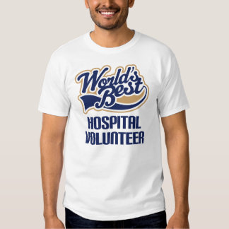 Presente voluntário do hospital tshirts