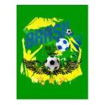Presentes 2010 do futebol dos amantes do futebol d cartão postal