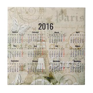 Presentes 2016 do ano novo de Paris da torre