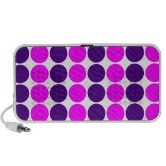 Presentes à moda para meninas Bolinhas cor-de-ros Caixinha De Som Para Laptop