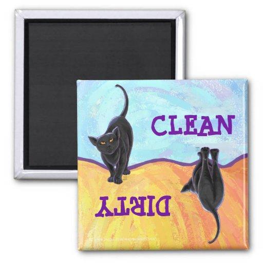 Presentes & acessórios do gato preto imãs