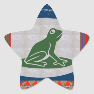 PRESENTES animais BONITOS do verde do animal de Adesito Estrela