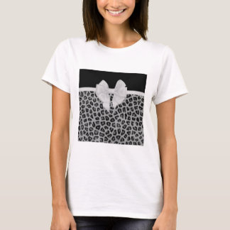 Presentes animais perfeitamente lustrados do camiseta