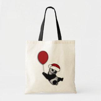 Presentes bonitos do urso do Natal dos desenhos an Sacola Tote Budget