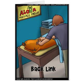 Presentes & cartões engraçados de Backlink da