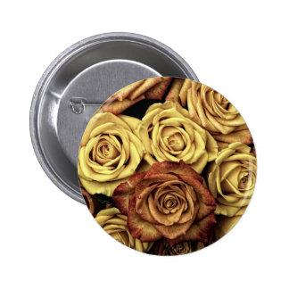 Presentes cor-de-rosa do vintage bóton redondo 5.08cm