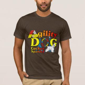 Presentes da agilidade de cocker spaniel camiseta