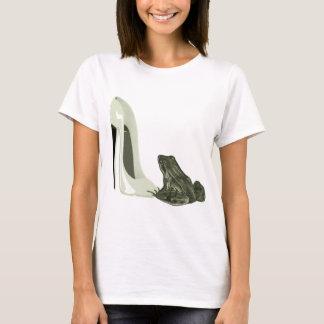 Presentes da arte dos calçados e do sapo do camiseta