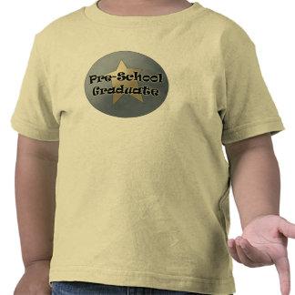 Presentes da graduação do pré-escolar t-shirt