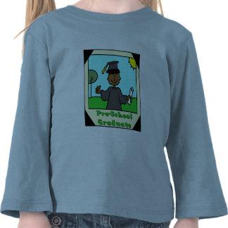 Presentes da graduação do pré-escolar camiseta