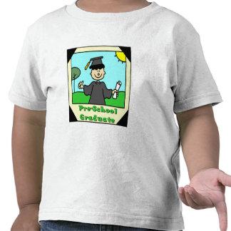 Presentes da graduação do pré-escolar t-shirts
