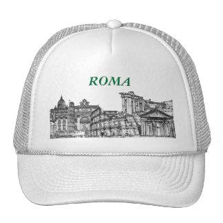 Presentes da lembrança do viagem de Roma, Roma… Boné