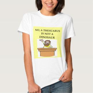 Presentes da paleontologia t-shirts