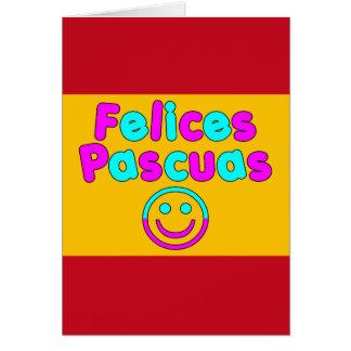 Presentes da páscoa para auto-falante espanhóis Fe Cartao