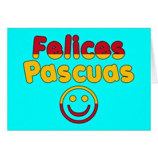 Presentes da páscoa para auto-falante espanhóis Fe Cartão