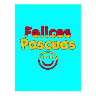 Presentes da páscoa para auto-falante espanhóis Fe Cartão Postal